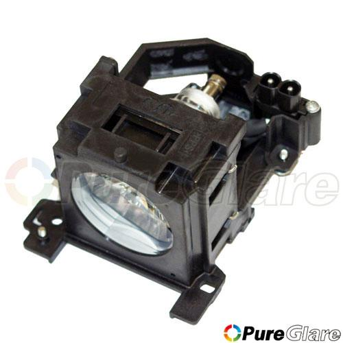 Pureglare Projector Lamp Module for HITACHI CP-X260 150 Days Warranty