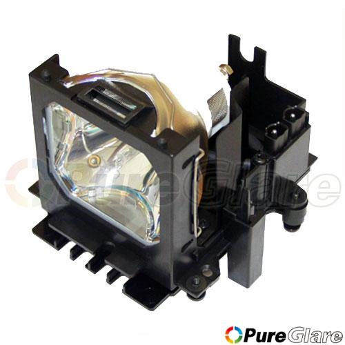Pureglare Projector Lamp Module for ASK C460 150 Days Warranty