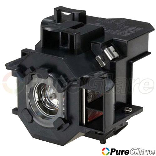 Pureglare Projector Lamp Module for EPSON EMP-400W 150 Days Warranty