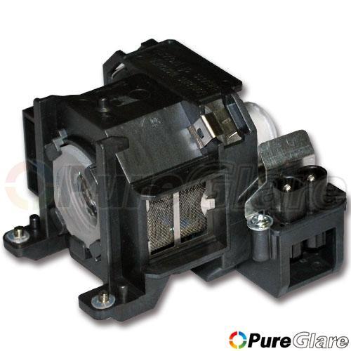 Pureglare OEM Projector Lamp ( Original Philips / Osram Bulb Inside ) for EPSON PowerLite 1700c 90 Days Warranty
