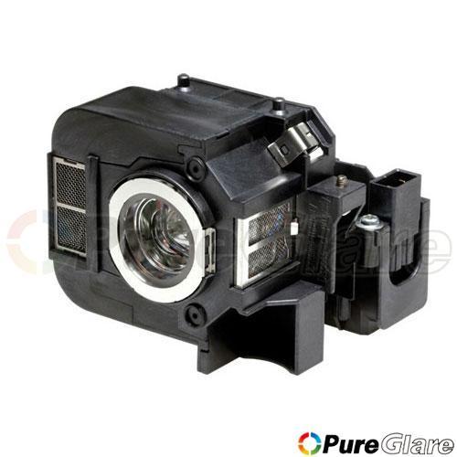 Pureglare OEM Projector Lamp ( Original Philips / Osram Bulb Inside ) for EPSON PowerLite 85+ 90 Days Warranty