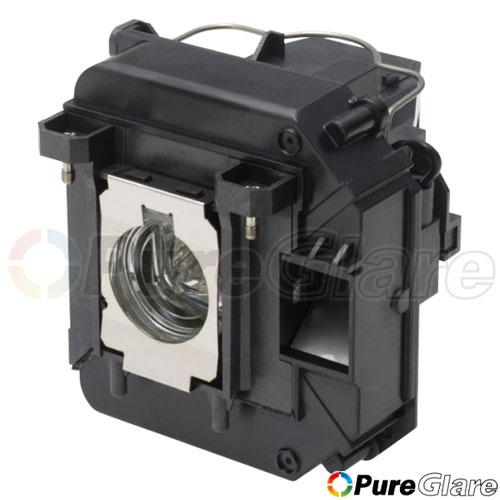 Pureglare OEM Projector Lamp ( Original Philips / Osram Bulb Inside ) for EPSON H381A 90 Days Warranty