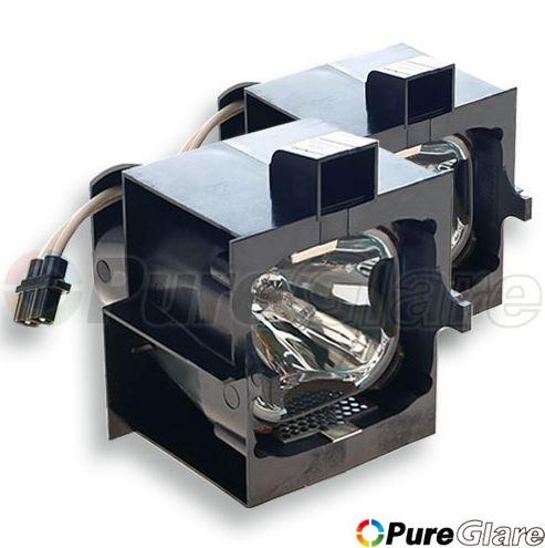 Pureglare Projector Lamp Module for BARCO R9841842 150 Days Warranty