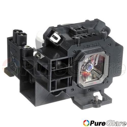Pureglare OEM Projector Lamp ( Original Philips / Osram Bulb Inside ) for NEC NP610EDU 90 Days Warranty