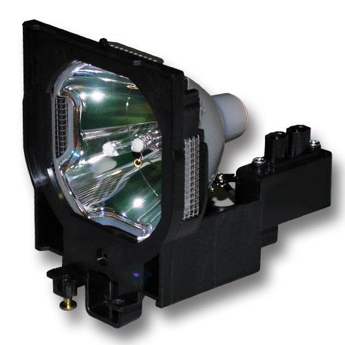 PureGlare Original Bulb with Housing for Eiki LC-XT4U Pro...